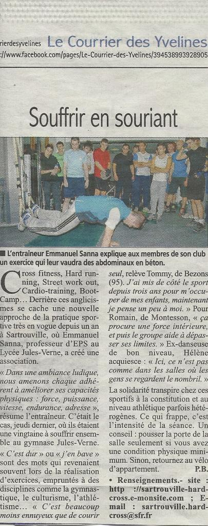 Article Courriers Yvelines 20 Novembre 2013